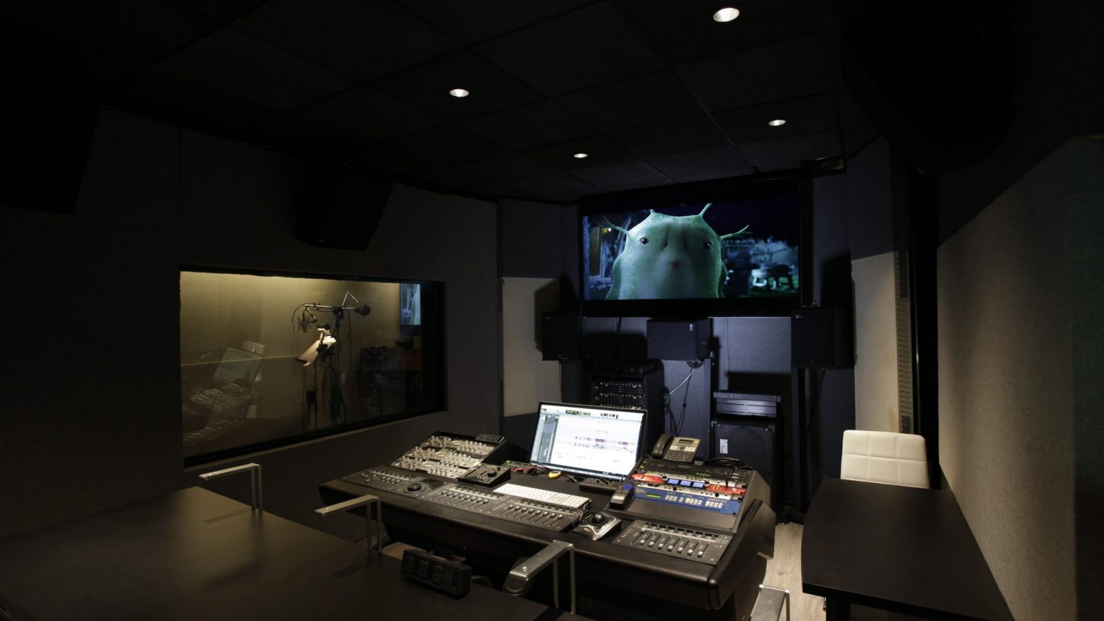 Buttons Recording Studio A 5.1 Cinema Mix
