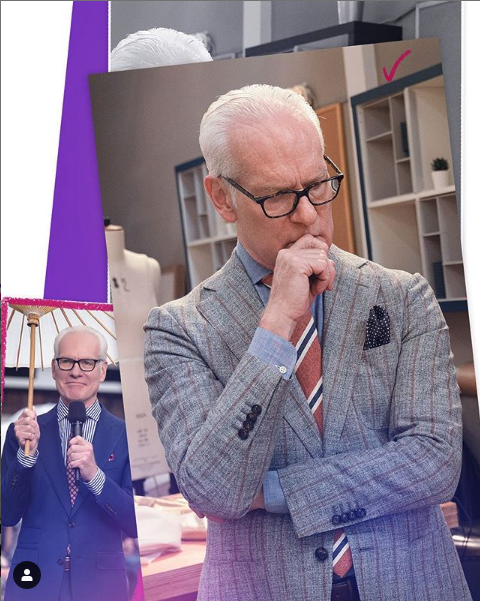 Tim Gunn does VO for MAking The Cut at Buttons NY